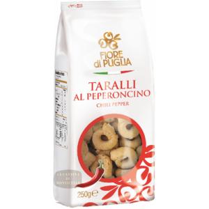 Taralli al Peperoncino 250 gr